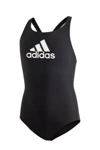 adidas Infinitex sportbadpak zwart, Zwart/wit