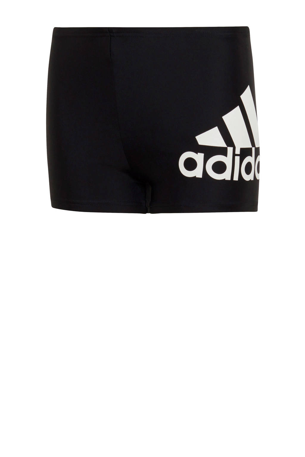 adidas Performance Infinitex zwemboxer met logo zwart, Zwart/wit