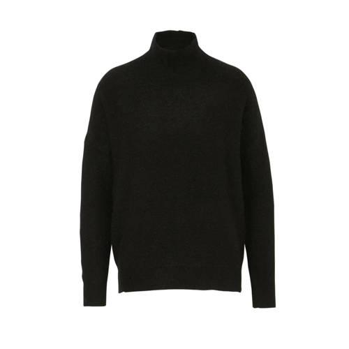 MSCH Copenhagen fijngebreide coltrui met wol zwart