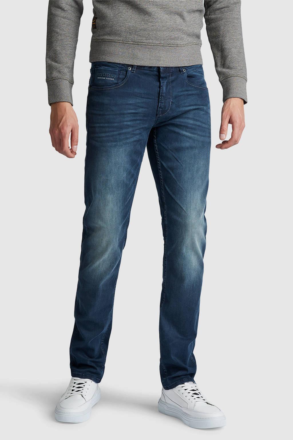 PME Legend slim straight fit jeans Nightflight lightning magic blue, Lightning Magic Blue