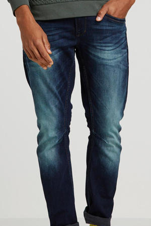 tapered fit jeans Skymaster tinted blue denim