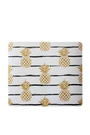 muismat met ananasprint