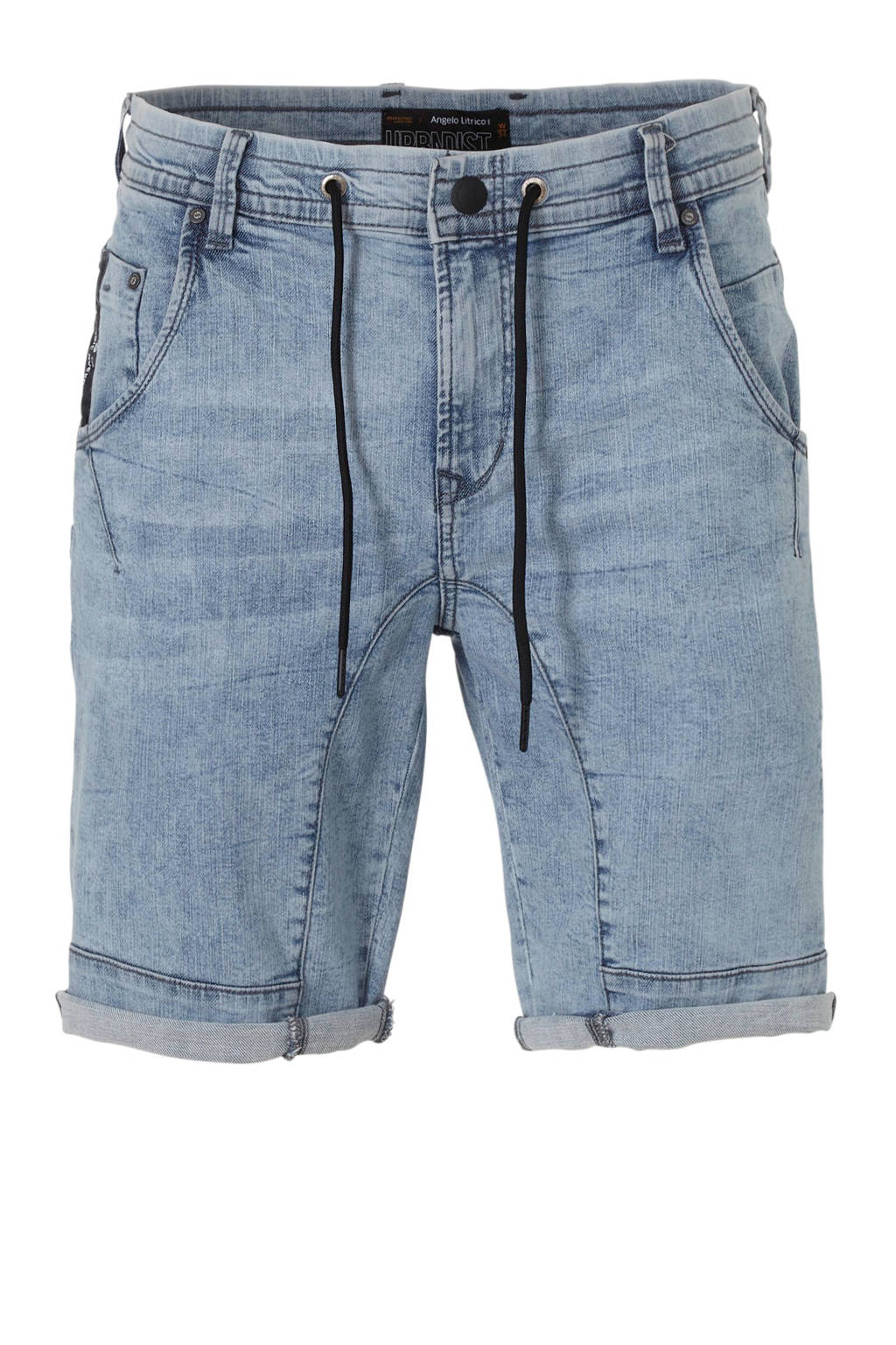 C&A Angelo Litrico regular fit jeans short, Lichtblauw