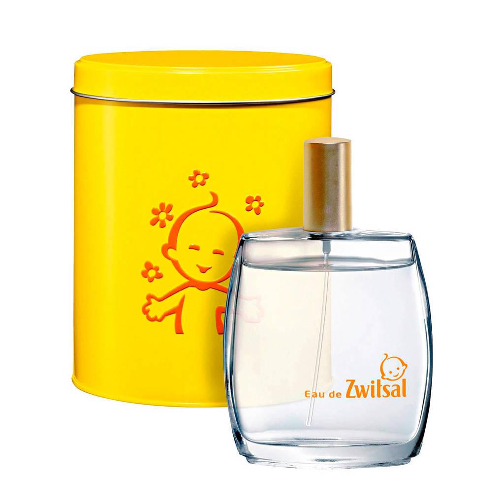 Zwitsal parfum Eau de Zwitsal cadeaupakket met blik 95 ml