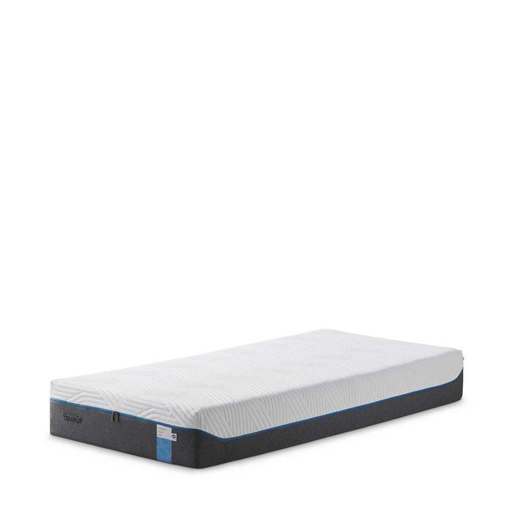 TEMPUR traagschuimmatras Cloud Elite (90x210 cm), wit, grijs