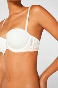 ESPRIT Women Bodywear strapless voorgevormde beugelbh Mackay wit, Wit