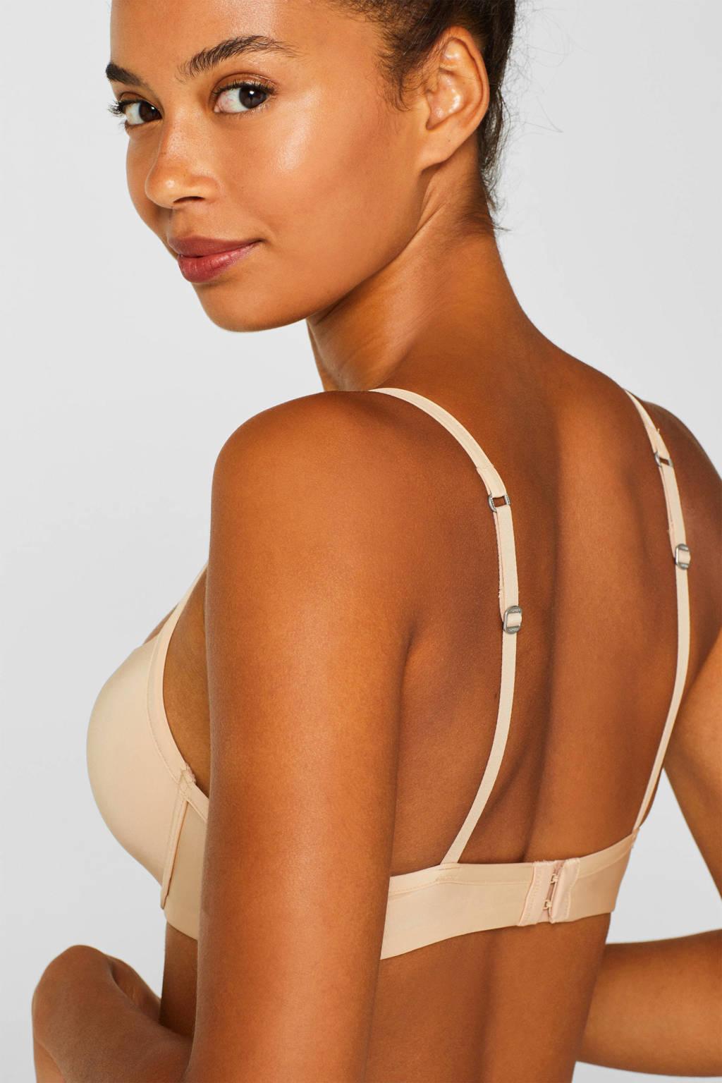 ESPRIT Women Bodywear voorgevormde beugelbh Broome beige, Beige