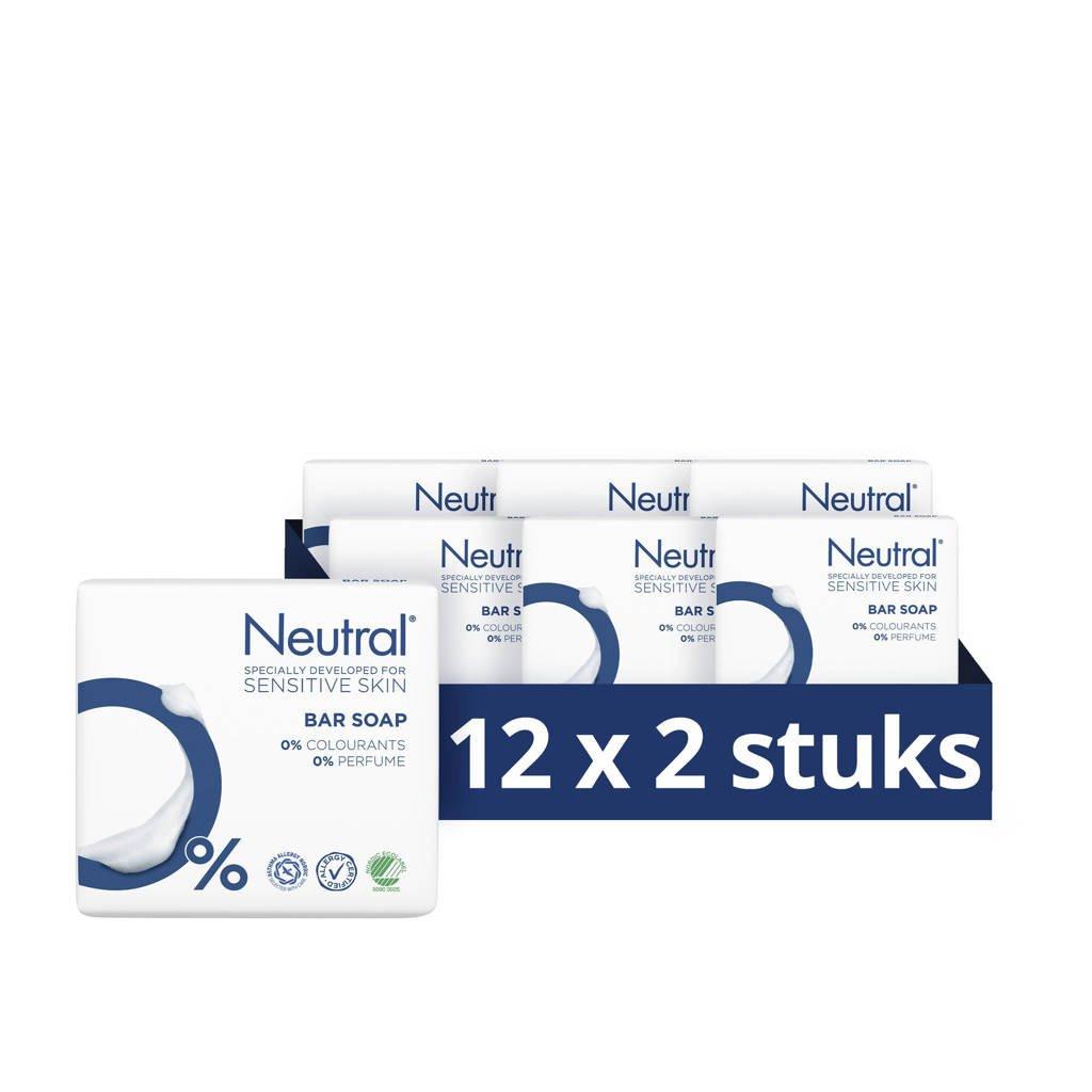 Neutral zeep tablet - 12x200 g - parfumvrij