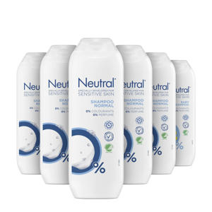 shampoo - 6x250 ml - parfumvrij