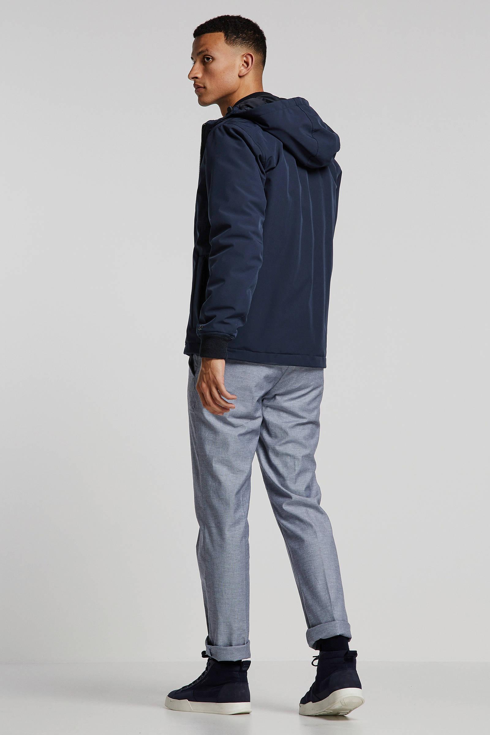 Cast Iron winterjas donkerblauw   wehkamp