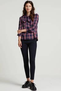 FIVEUNITS slim fit pantalon Angelie donkerblauw, Donkerblauw