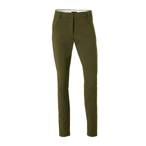 FIVEUNITS slim fit pantalon groen