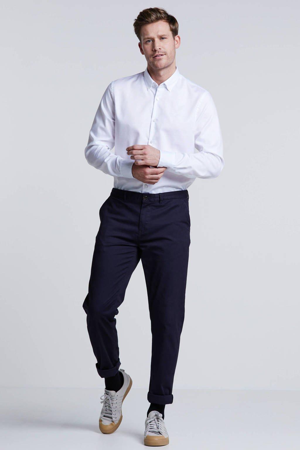 Vanguard regular fit overhemd wit, Wit