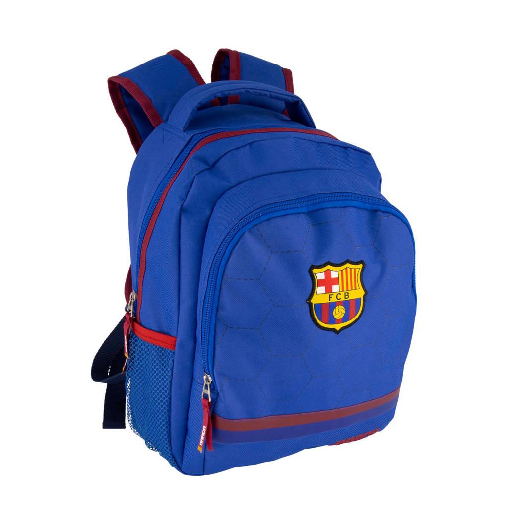 vanHaren rugzak FCB blauw, Blauw/rood