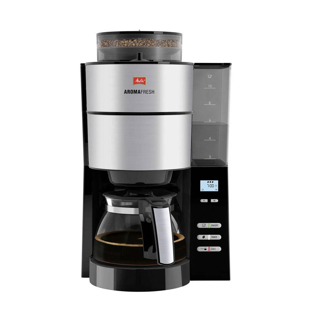 Melitta AROMAFRESH koffiezetapparaat, RVS/zwart