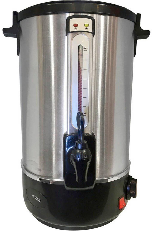 Proline  CWB16 koffiepercolator, Zilver