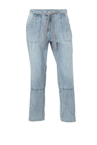 The Denim cropped loose fit jeans