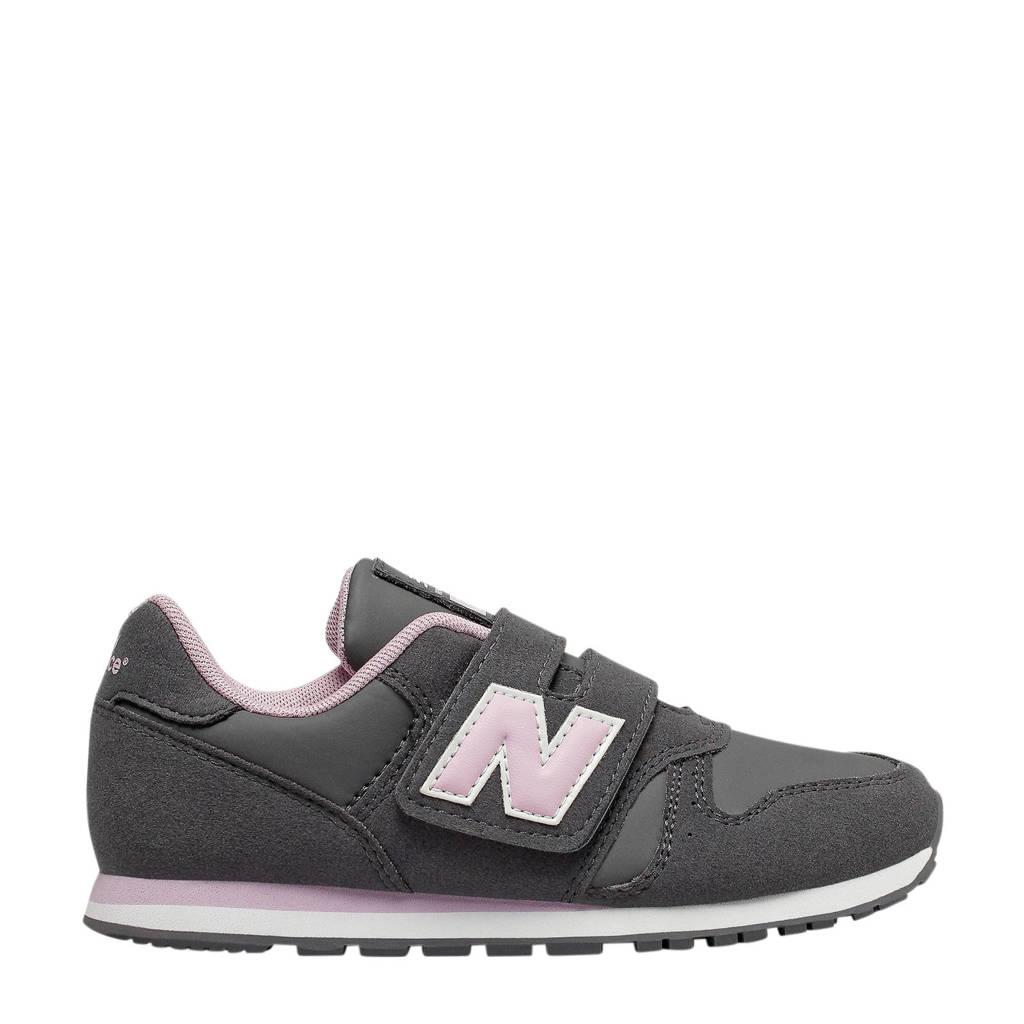 New Balance  YV373 sneakers grijs/lichtroze, Grijs/lichtroze