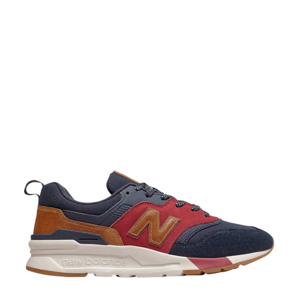 New Balance 997  sneakers donkerblauw/rood, Donkerblauw/rood