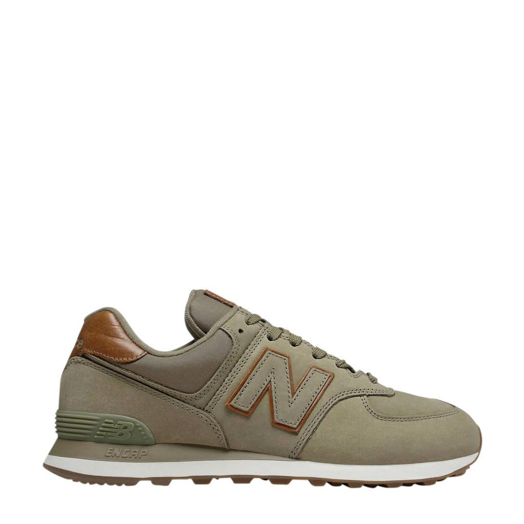 New Balance 574  sneakers kakigroen, Kakigroen