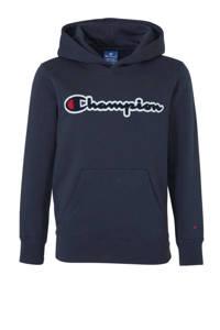 Champion hoodie met 3D applicatie donkerblauw, Donkerblauw