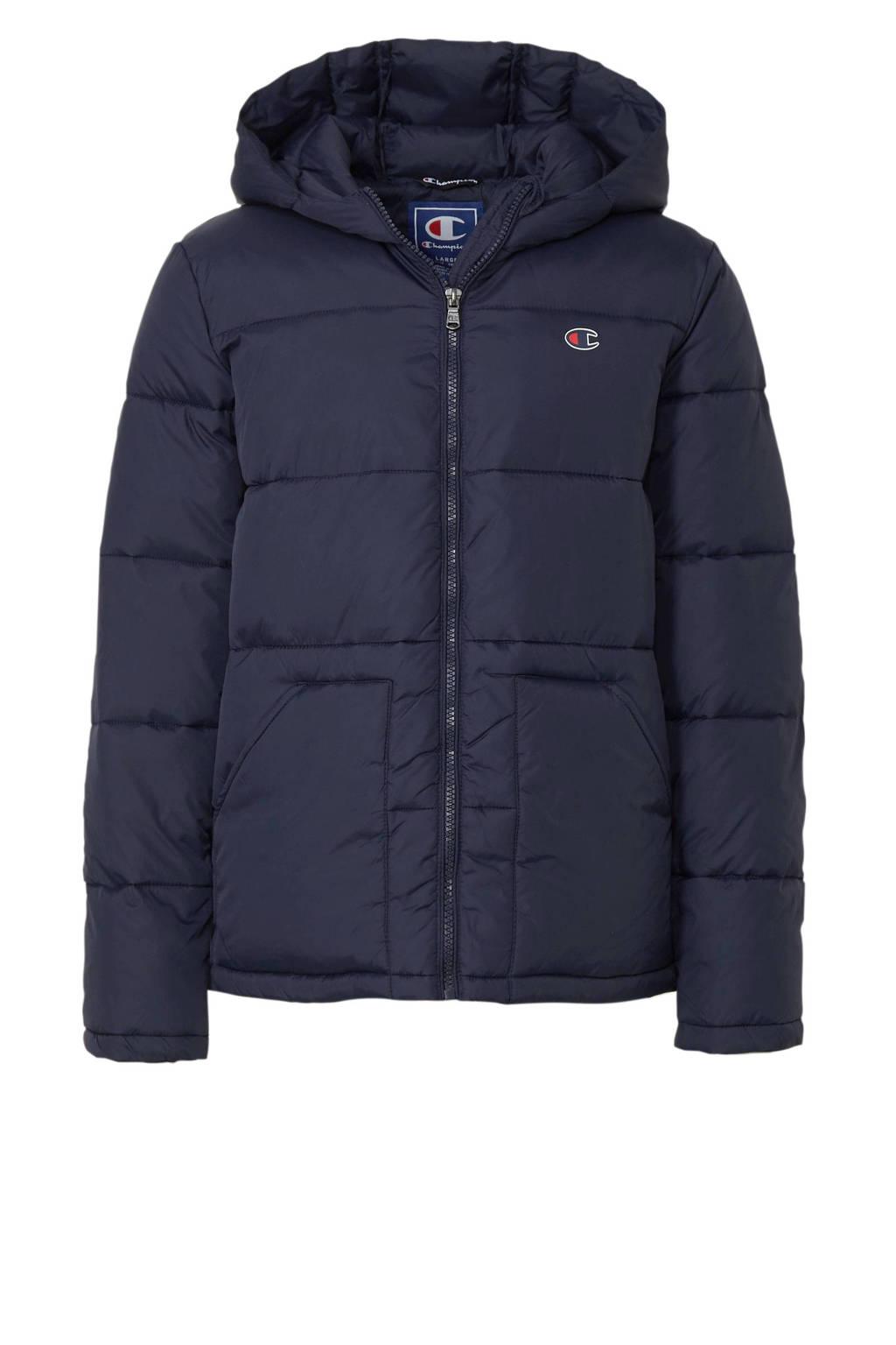 Champion winterjas donkerblauw, Donkerblauw