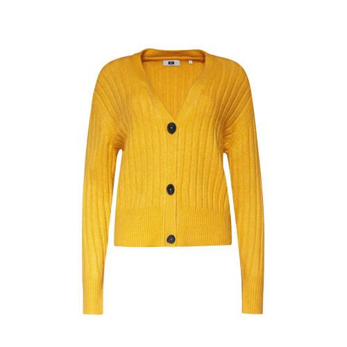 WE Fashion vest geel