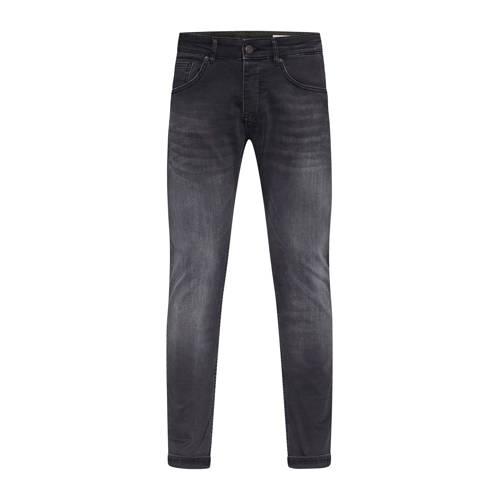 WE Fashion Blue Ridge slim fit jeans black denim