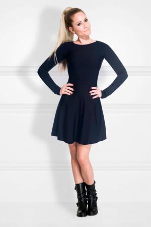 A-lijn jurk Jintha donkerblauw