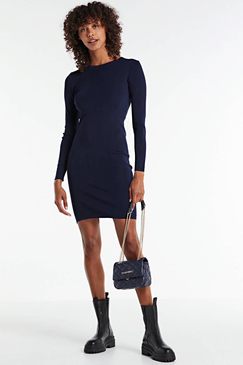 NIKKIE jurk Jolie donkerblauw, Donkerblauw