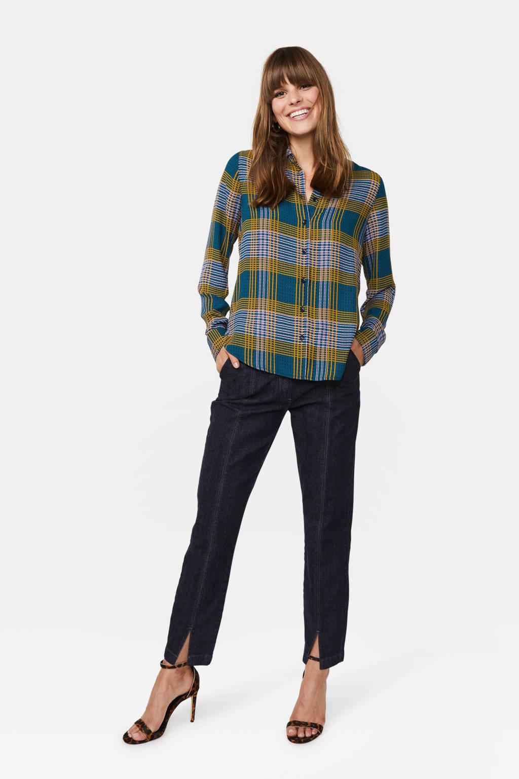 WE Fashion geruite blouse multi, Multi
