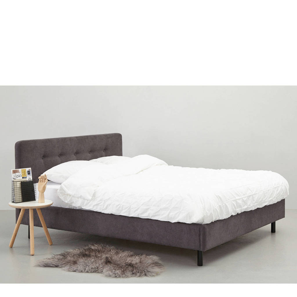 whkmp's own bed Acapulco (160x200 cm), Antraciet
