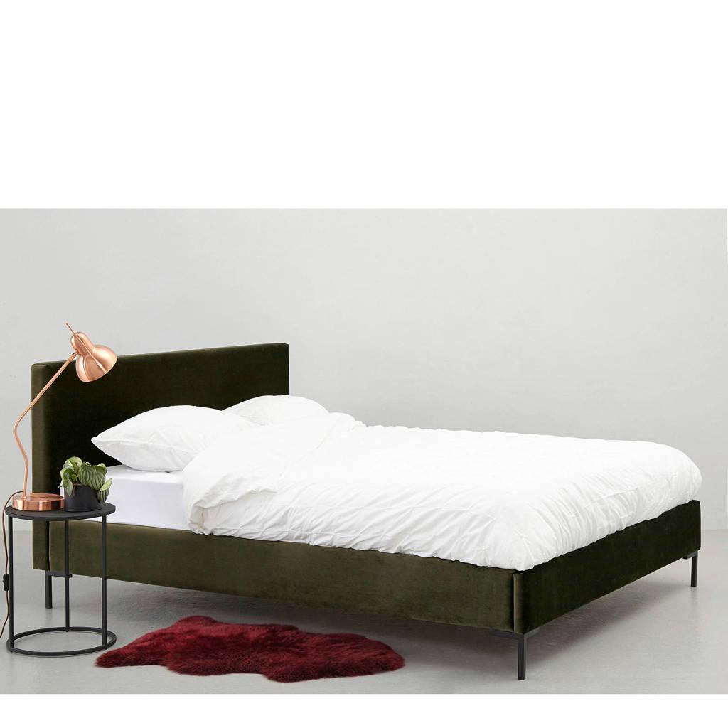 whkmp's own bed Malmö (160x200 cm), Donkergroen