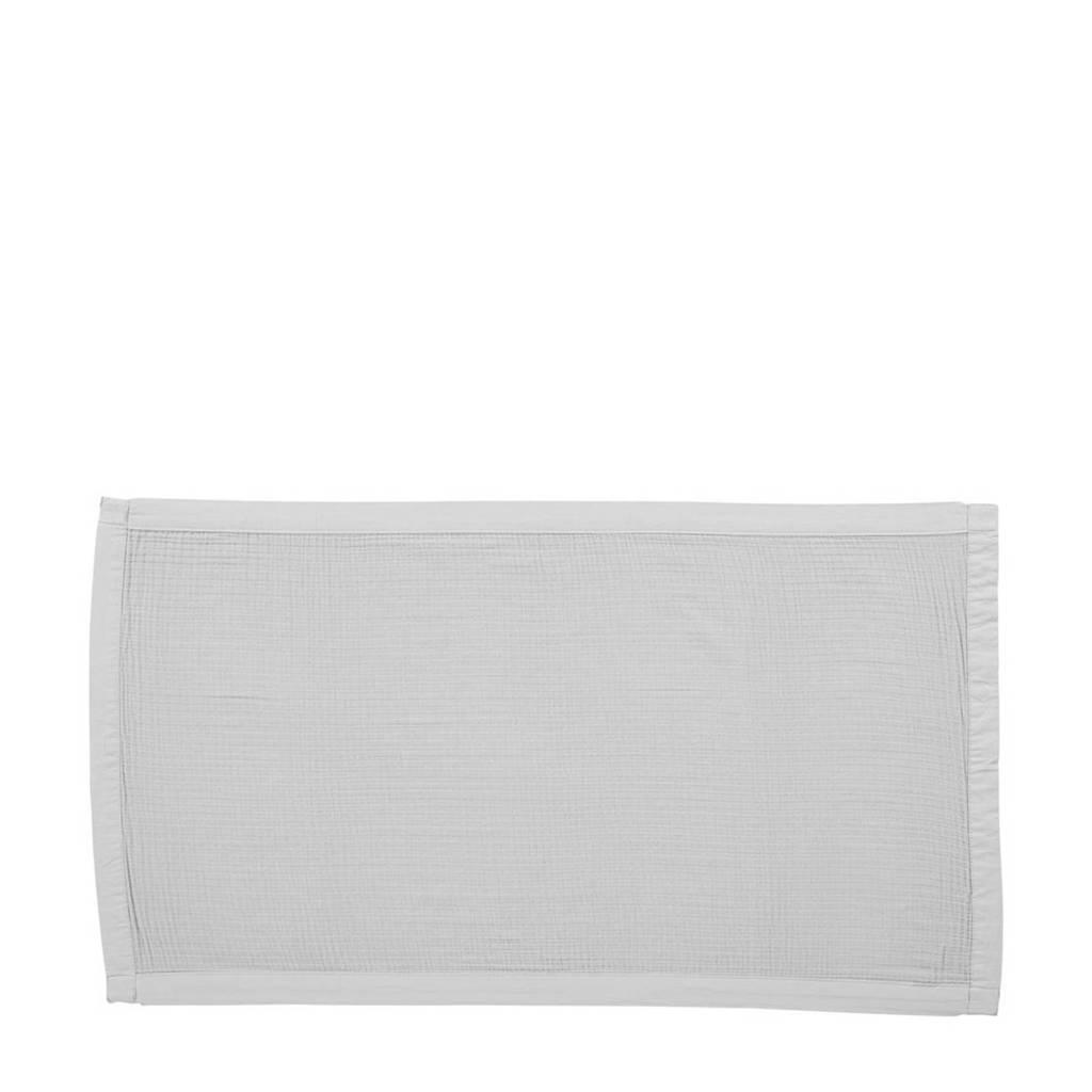 vtwonen handdoek Cuddle (100 x 180 cm) Lichtgrijs