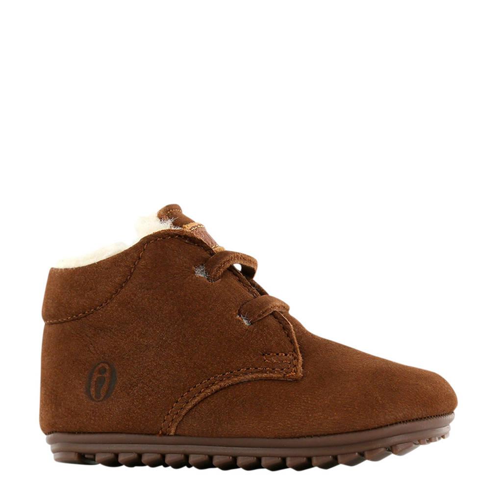 Shoesme   BP9W027-B leren babyschoenen bruin, Bruin