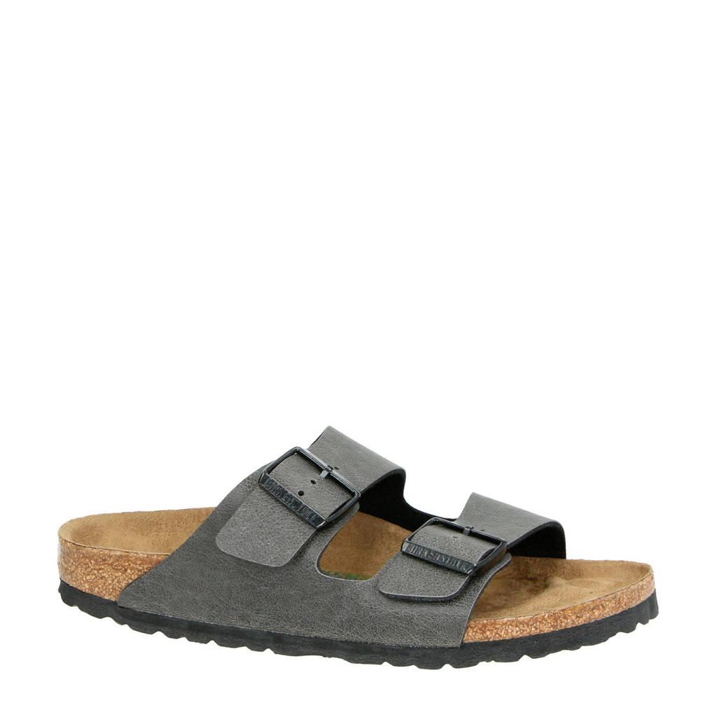 Birkenstock Vegan Arizona slippers antraciet, Antraciet