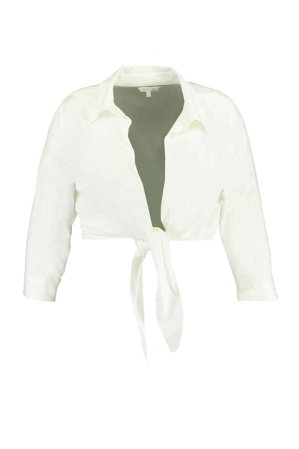 MS Mode blouse gebroken wit, Gebroken wit