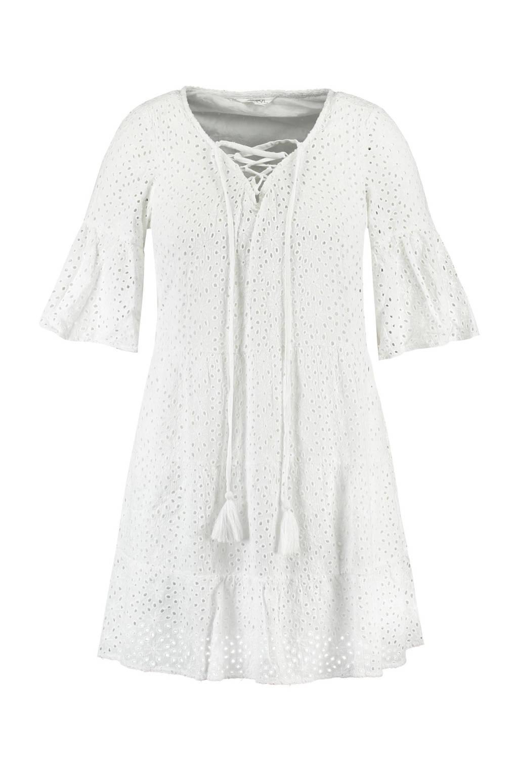 FSTVL by MS Mode A-lijn jurk wit, Wit