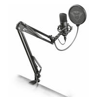 Trust  GXT 252+ Emita Plus Streaming microfoon, Zwart