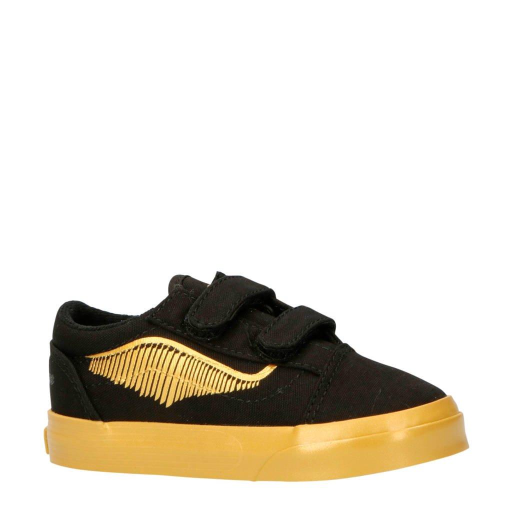 VANS  Old Skool V Harry Potter sneakers zwart/goud, Zwart/goud