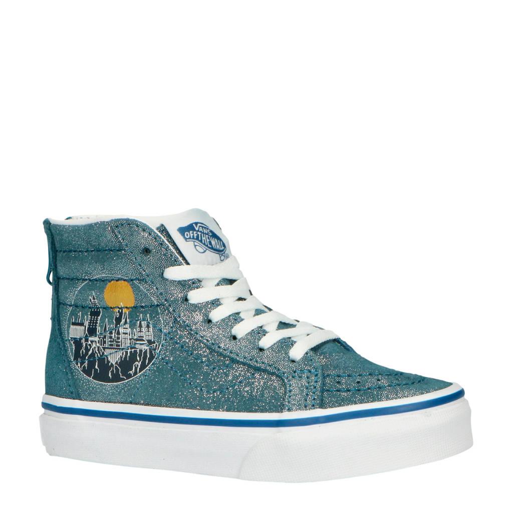 VANS  Sk8-Hi Zip Harry Potter sneakers glitter grijs/wit, Grijs glitter/wit