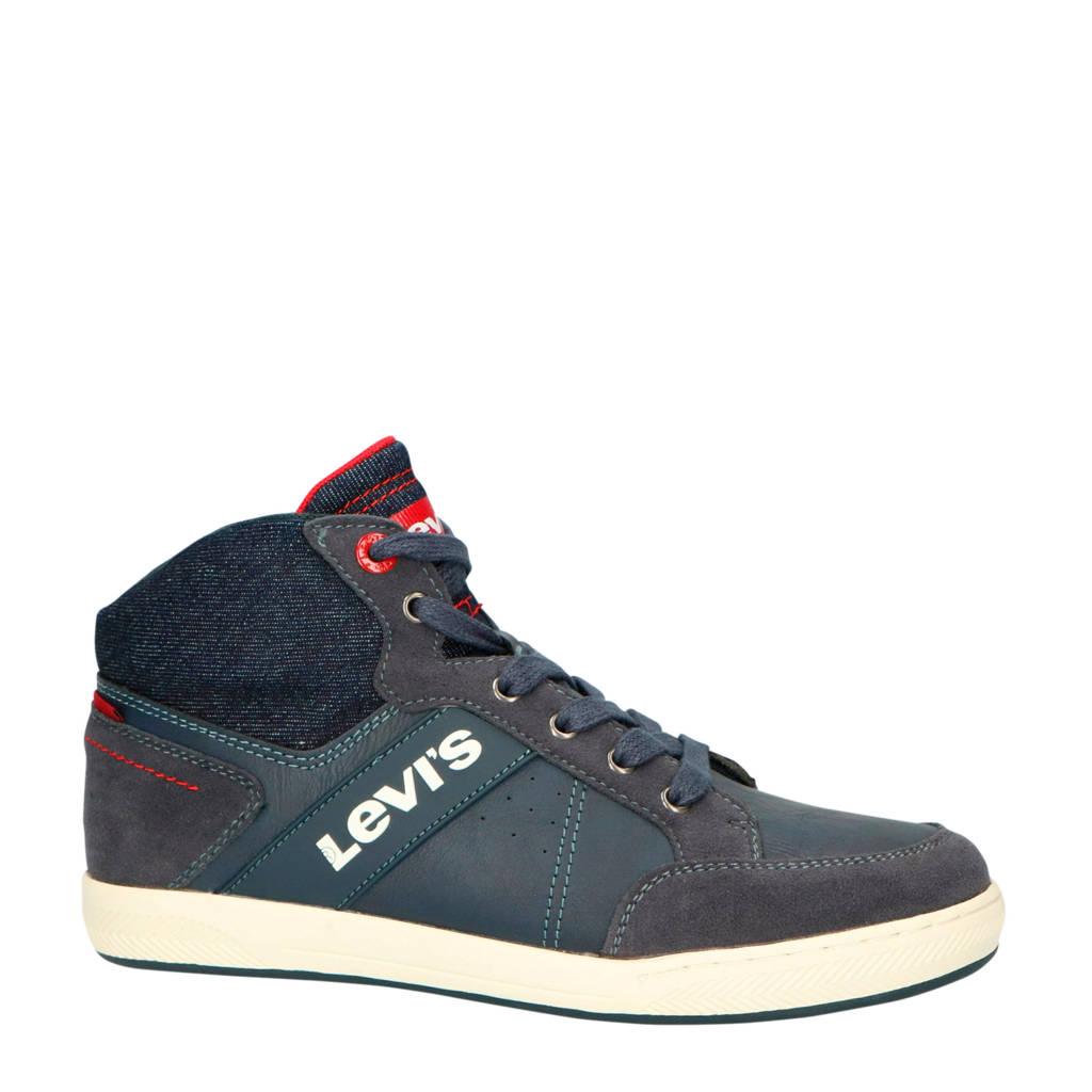 Levi's Kids  New Madison Mid sneakers blauw, Blauw