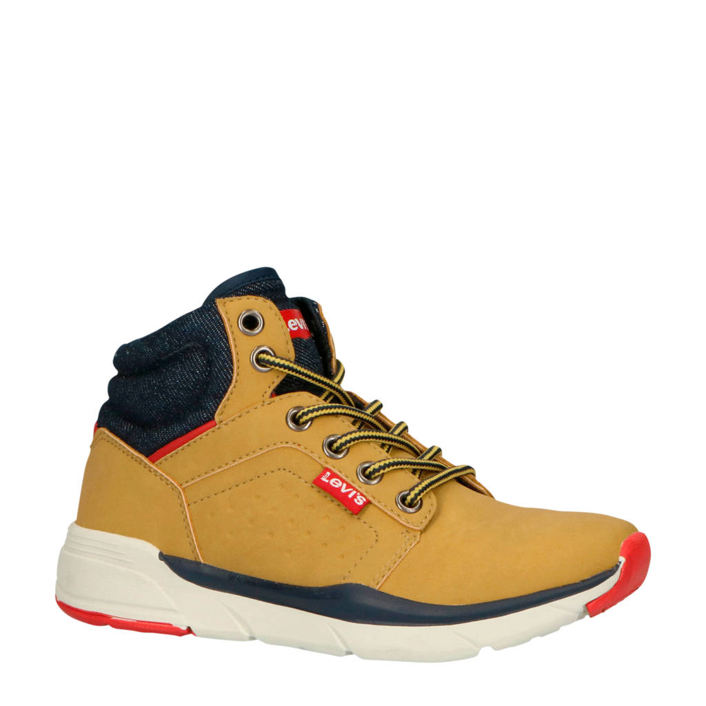 Levi's Kids  New Aspen Mid sneakers camel, Camel