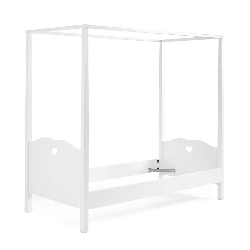 Vipack hemelbed Amori  (90x200 cm), Wit