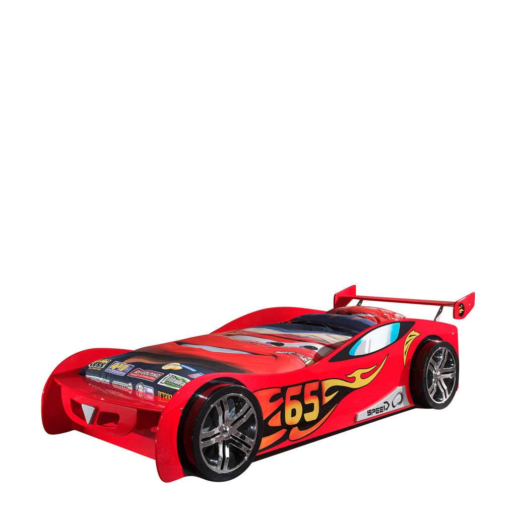 Vipack raceauto kinderbed Auto  (90x200 cm), Rood