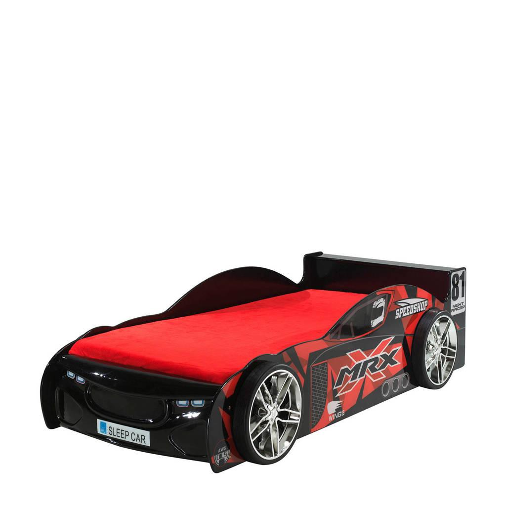 Vipack raceauto kinderbed Auto  (90x200 cm), Zwart