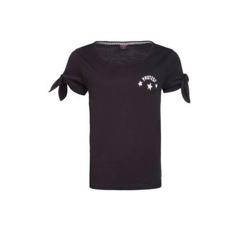 Protest T-shirt met printopdruk zwart