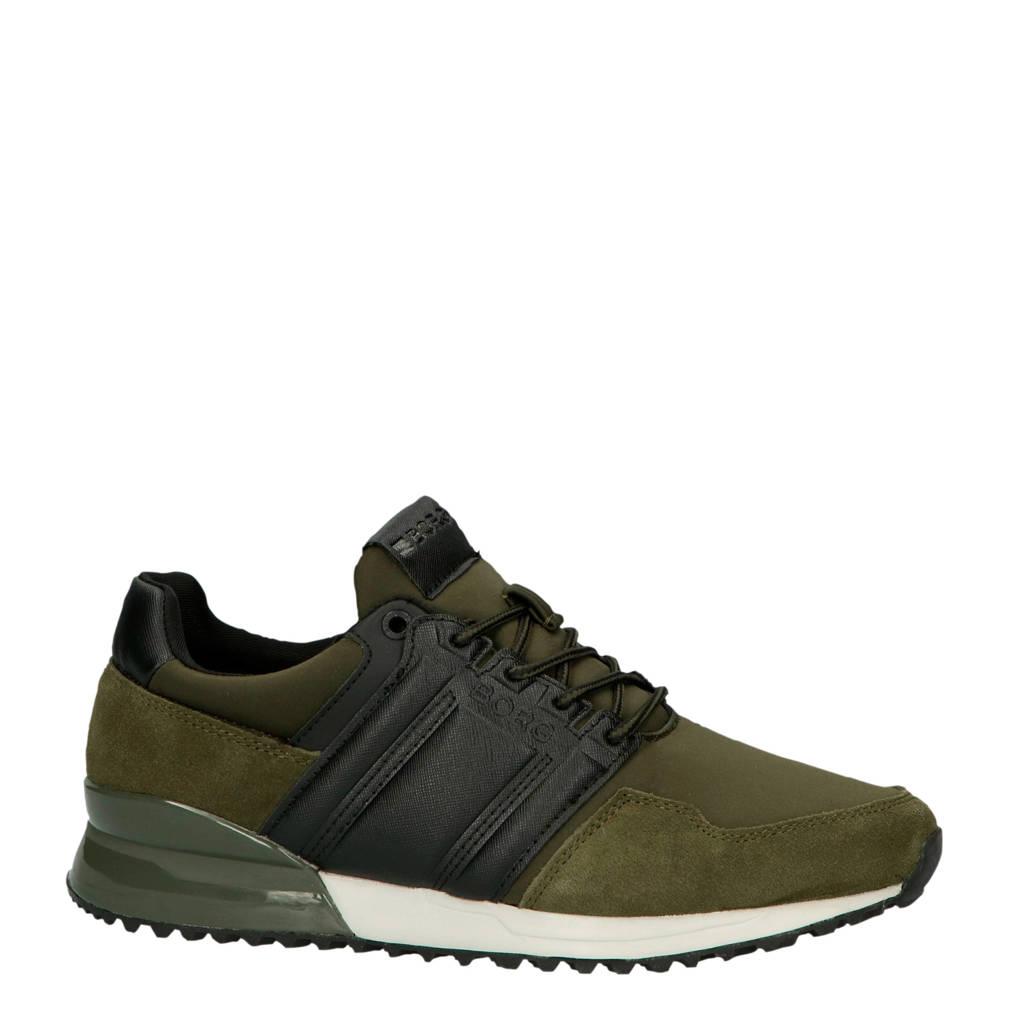 Björn Borg R230 LOW HKG M sneakers groen, Groen/zwart