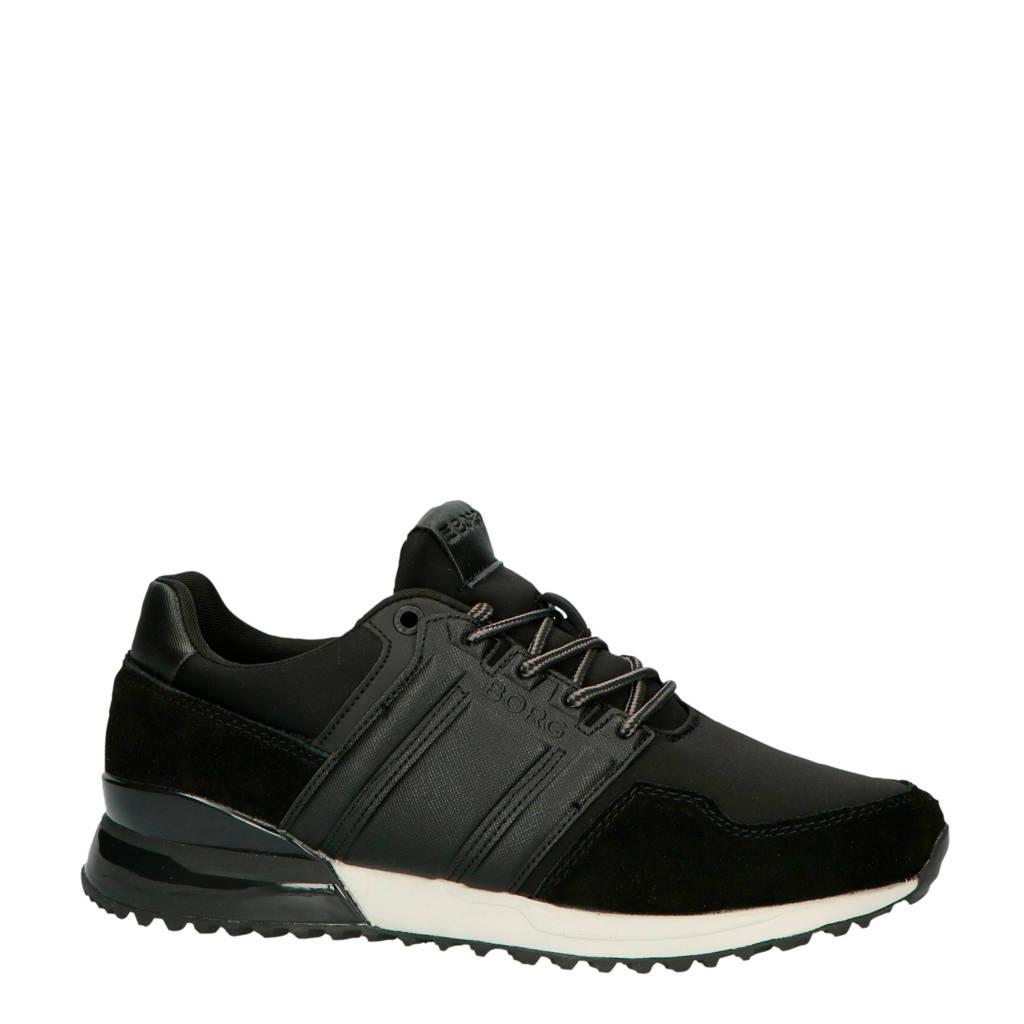 Björn Borg R230 LOW HKG M sneakers zwart, Zwart