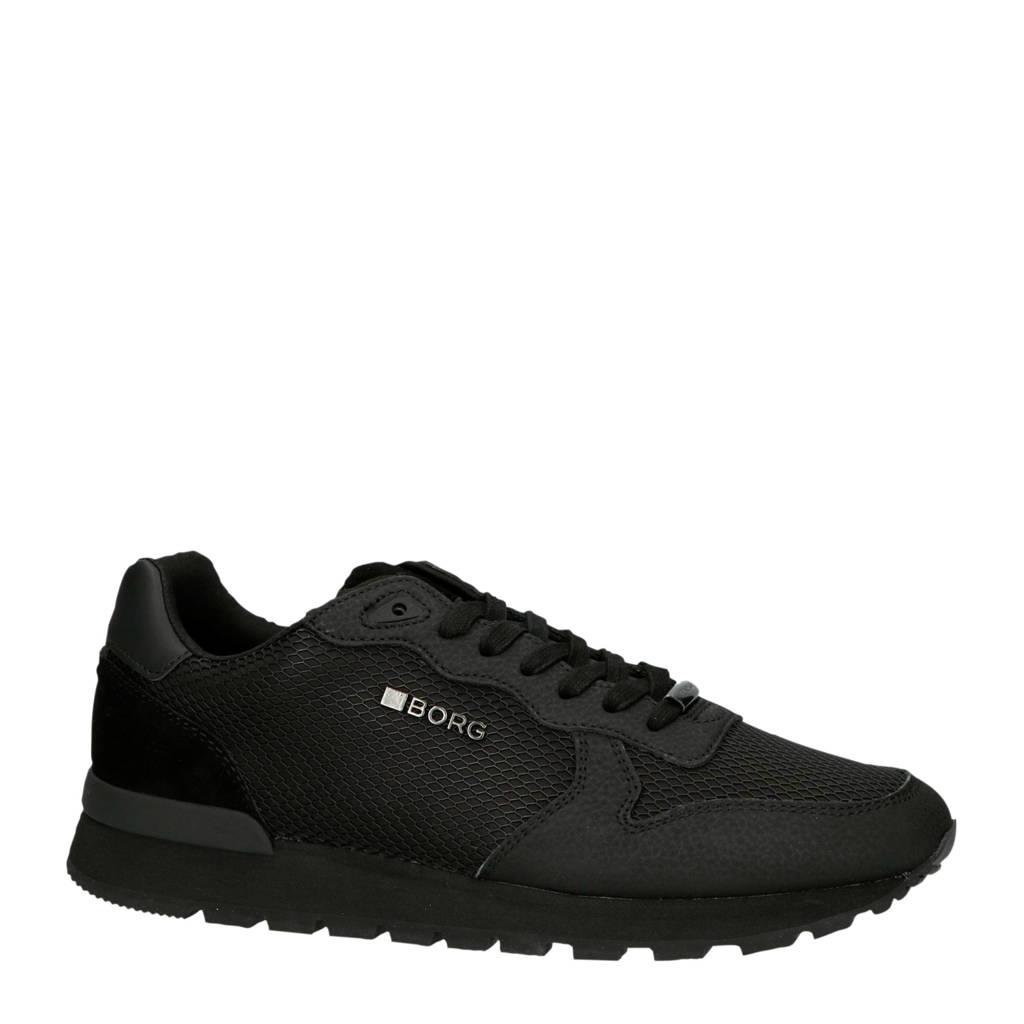 Björn Borg R605 LOW KPU M sneakers zwart, Zwart